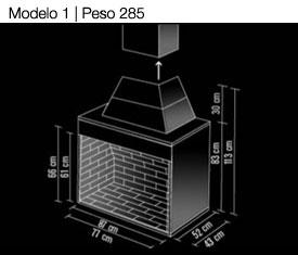 Chimeneas Pavimenti Pisos Artesanales - Modelos-de-chimeneas-de-obra